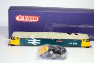 Vitrains Class 47401 'North Eastern' in BR Large Logo Blue livery Body Boxed with detailing pack.